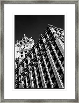 Wrigley Building - 05.16.10_144 Framed Print by Paul Hasara