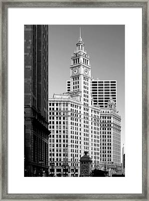 Wrigley Building - A Chicago Original Framed Print by Christine Till