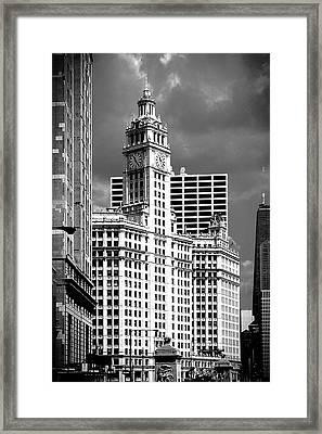 Wrigley Building Chicago Illinois Framed Print by Christine Till