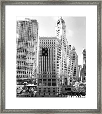Wrigley Building Chicago Framed Print