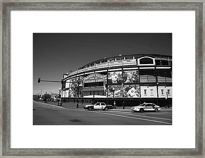 Wrigley Field - Chicago Cubs 13 Framed Print by Frank Romeo