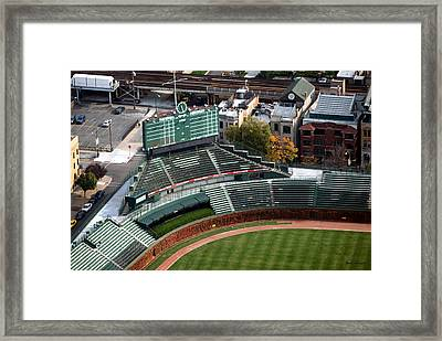Wrigley Field Chicago Sports 04 Framed Print by Thomas Woolworth