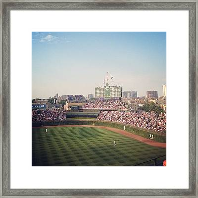 Wrigley Framed Print by Mike Maher