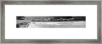 Wrigley Panorama Framed Print by David Bearden