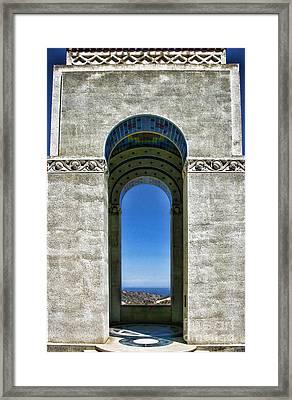 Wrigley's Memorial By Diana Sainz Framed Print
