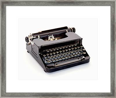 Write A Letter Framed Print