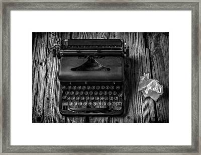 Write Me Framed Print by Garry Gay