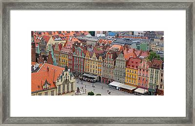 Wroclaw Framed Print by Kees Colijn