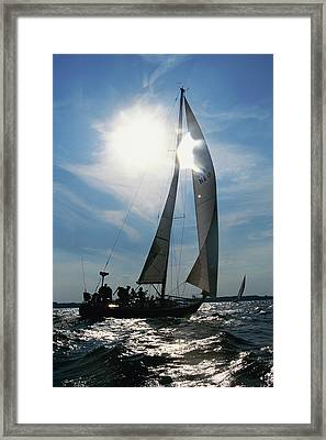 Wrong Imageamusement Park Ride Framed Print by Panoramic Images