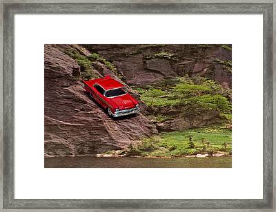 Wrong Turn Framed Print by Jeff  Gettis
