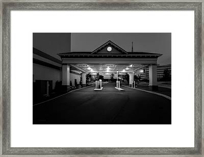 Wrong Way Framed Print by Bob Orsillo