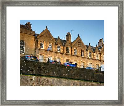 Wrong Way Up Framed Print by Nik Watt