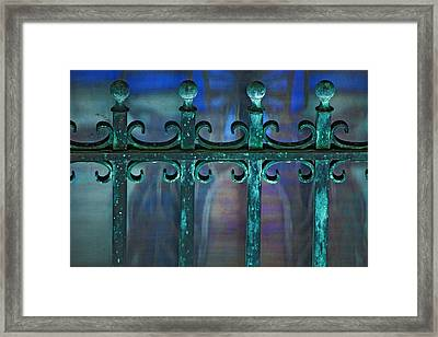 Wrought Iron Framed Print