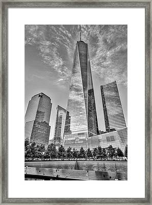Wtc 911 Ground Zero Framed Print