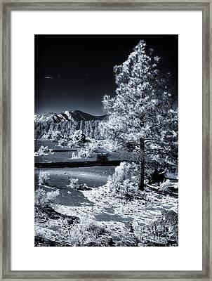 Wupatki Blue Framed Print