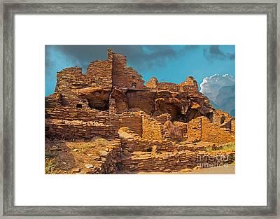 Wupatki Pueblo Framed Print by Richard and Ellen Thane