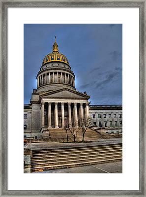 Wv Capital Building 2 Framed Print by Jonny D