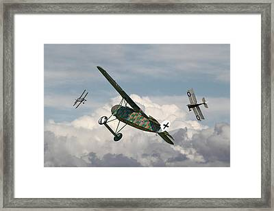 Ww1 - Spoiled For Choice Framed Print by Pat Speirs