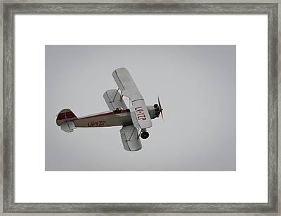 Focke-wulf Fw 44 Framed Print by Pablo Lopez