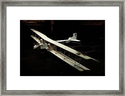 Wwi German Gotha Bomber, Omaka Aviation Framed Print