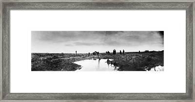 Wwi Passchendaele, 1917 Framed Print