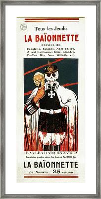 Wwi Poster, 1916 Framed Print by Granger