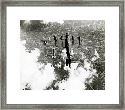 Wwii B-17 Friendly Fire Incident No.3 Framed Print