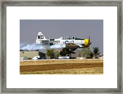 Wwii Fighter 1 Framed Print