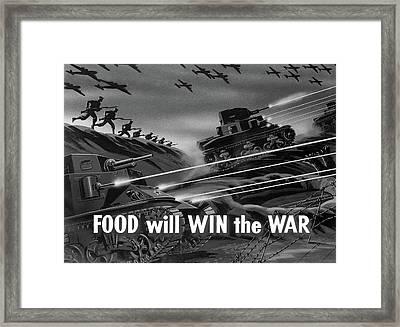Wwii Film Strip, 1942 Framed Print