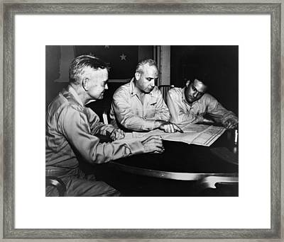 Wwii: Philippine Strategy Framed Print by Granger