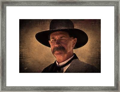 Wyatt Framed Print by Michael Petrizzo