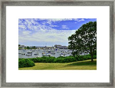 Wychmere Harbor Framed Print by Allen Beatty
