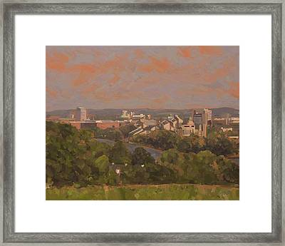 Wyck Autumn 2011 Framed Print by Nop Briex