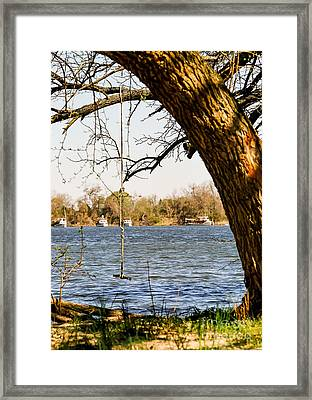 Swing At Wye Mills Framed Print by George Bowen