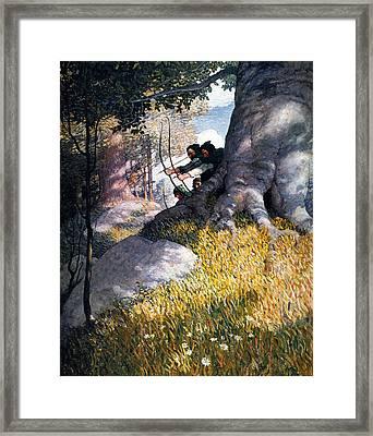 Wyeth Robin Hood, 1917 Framed Print by Granger