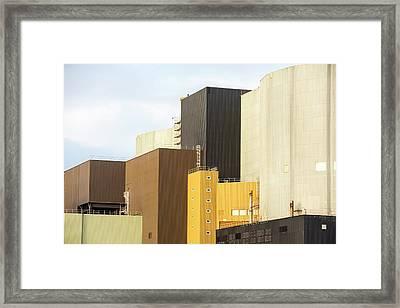 Wylfa Nuclear Power Station Framed Print
