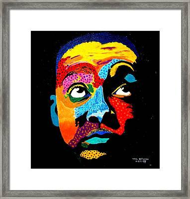 Wynton Marsalis Framed Print