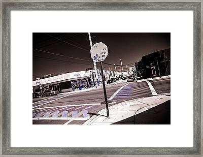 Wynwood Crossing Framed Print