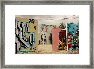 Wynwood Frame Within A Frame Framed Print