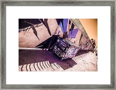 Wynwood Trash Framed Print