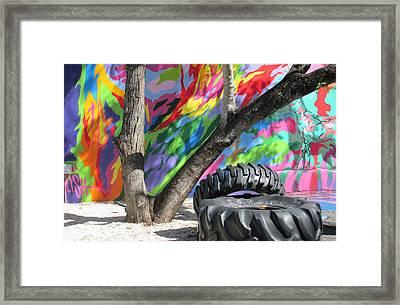 Wynwood Walls Framed Print by Rosie Brown