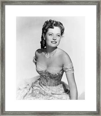 Wyoming Mail, Alexis Smith, 1950 Framed Print by Everett