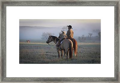 Wyoming Ranch Framed Print