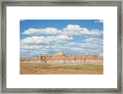Wyoming, Sublette County, Cloudy Sky Framed Print by Elizabeth Boehm