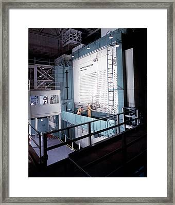 X-10 Graphite Reactor Framed Print by Us Department Of Energy