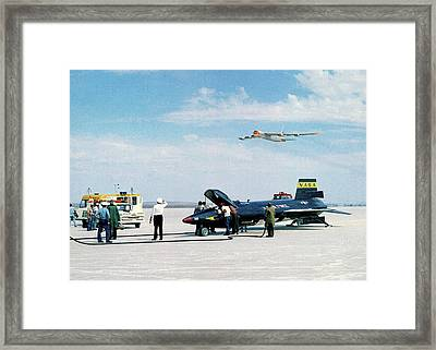 X-15 Aircraft After Landing Framed Print