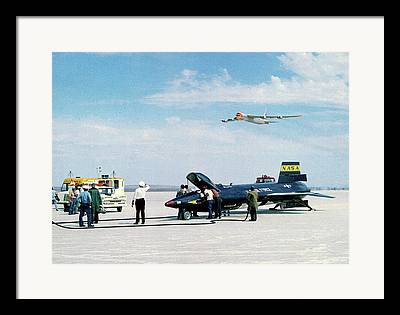 High Altitude Flying Framed Prints