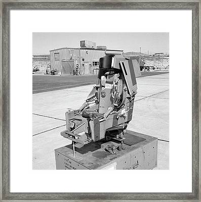 X-15 Aircraft Ejection Seat Framed Print