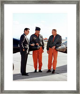 X-15 Aircraft Test Pilots Framed Print