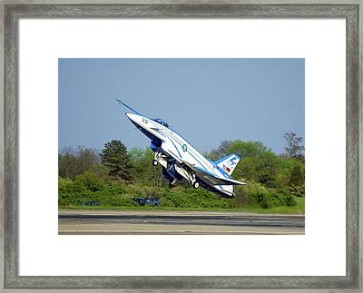 X-31 Vector Experimental Aircraft Framed Print by Us Navy/james Darcy